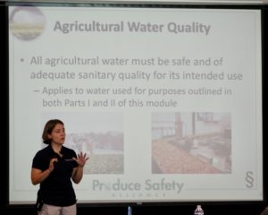 Cover photo for Participate in the Upcoming Produce Safety Alliance's Water Summit